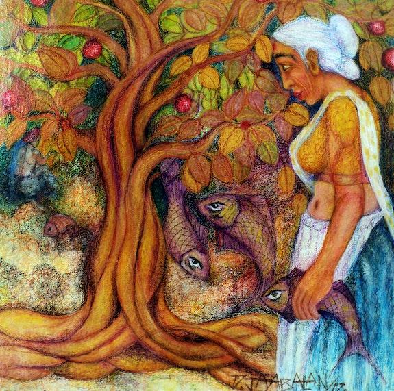 Fisher Woman. Jayabalan Dhamodaran Jayabalan