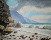The Amaly coast in Italy-seascape. Yorige Geo