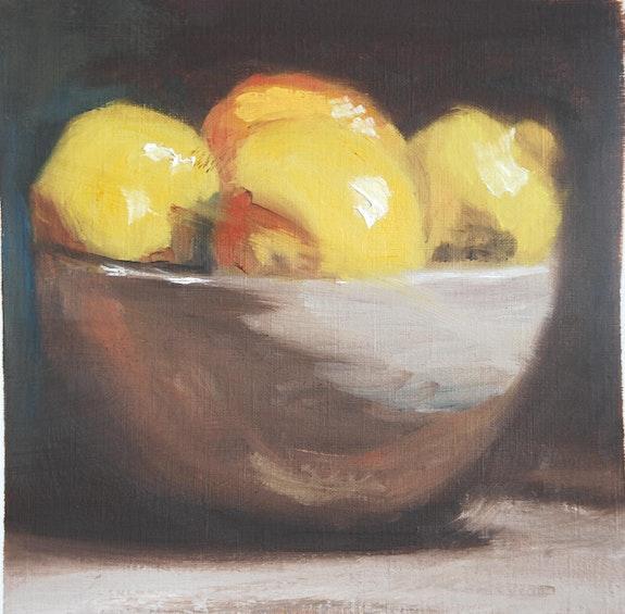 Nature morte aux citrons. Cesar Luciano Cesar Luciano
