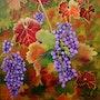 La vigne fin octobre. Marie Colin