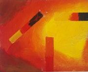Orange dawn. Christopher Mendez Eligio
