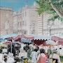 Le marché aux fleurs. Jean Claude Malaussane
