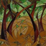 Bric a braque, inspiré par Georges Braque. Corinne Lelaumier