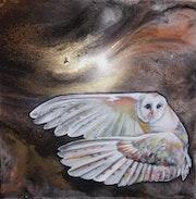 L'oiseau de Minerve.