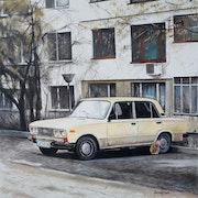 Retro in White. Dimitrina Bogdanova