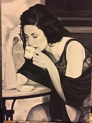 La buveuse de café n°19.