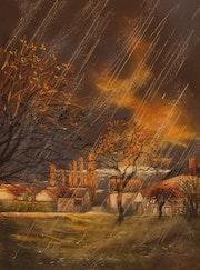 Les derniers feux de l'automne.