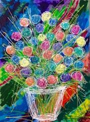 Bouquet de fleurs….