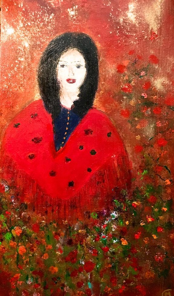Femme-fleur. Marie-Claude Lambert Marie-Claude Lambert
