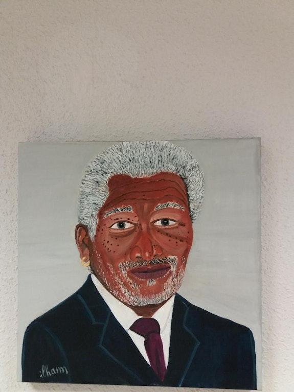 Morgan freeman. Balarh Ilham Ilham Balarh