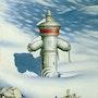 Schnee. Illustration & Illusion