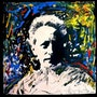 « Portrait Jean Cocteau » - Acryl painting and marker on canvas. Galerie Nuewe Nüske & Werth