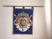 Napoléon Ier (empereur Royal crest armoiries entièrement doublé.
