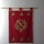 Napoléon Ier (empereur Royal Crest etendard empire entièrement doublé. Pino Didier