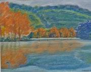 Herbstliche Landschaft.
