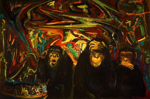 Une grande majorité de singes refusent toujours… N°2. J. L. Manuel Jean-Louis Manuel