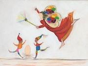 Illustration « la fée des couleurs ».