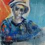 Portrait » Alain Gerbault ». Chantal Gougeon Moussu