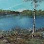 Draveil, les étangs en bord de Seine.. Jean-Louis Maurer