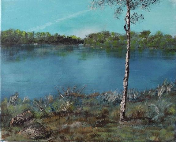 Draveil, les étangs en bord de Seine.. Jean-Louis Maurer Jean-Louis Maurer