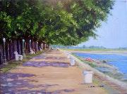 La baie de somme - st valery/somme » le quai jeanne d'arc ».