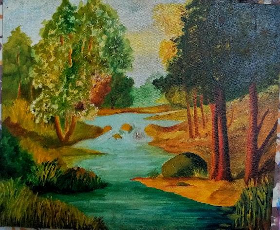 Autumn by the lake. Akshatha Nagaraj Akshatha Nagaraj