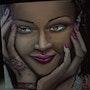 Der Blick einer Frau. Sprathoff