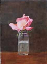 Fleur dans son vase.