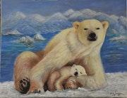 Vive la vie en Arctique.