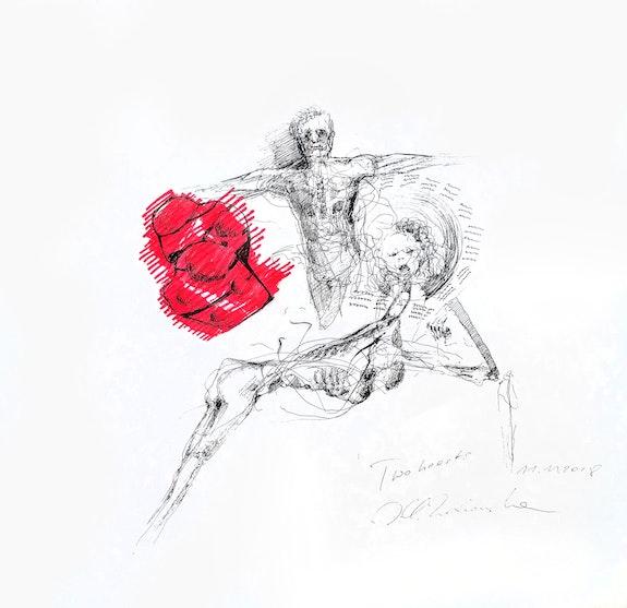 Two hearts. Joanna K. Zochowska Zochowska