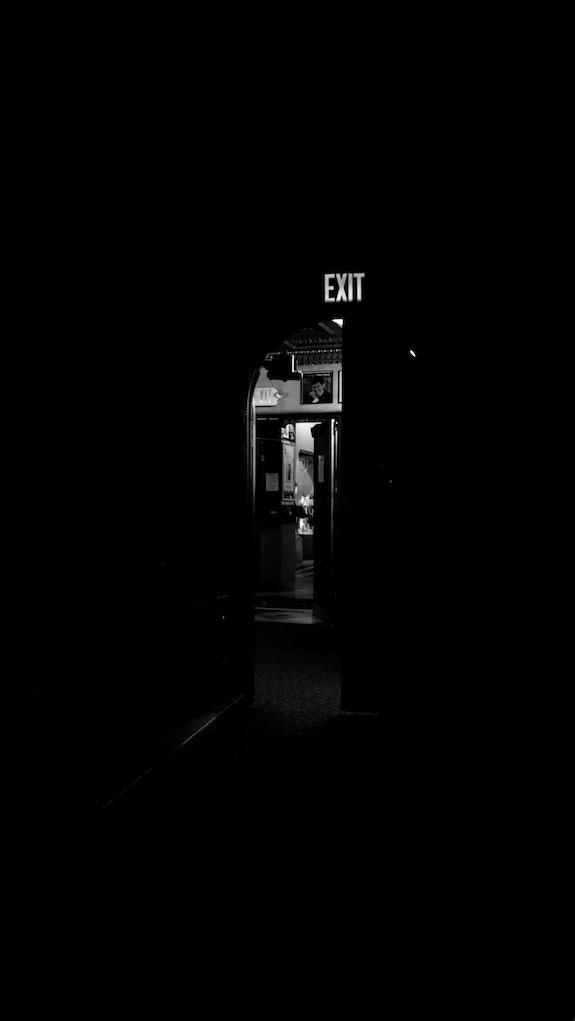 Exit. Ed Bross Ed Bross