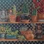… Il y a des cactus.