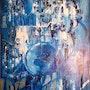 Blue kaleidoscope. René Martinez