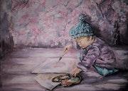 Petit peintre. Alyona