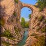 Puente románico la rioja. Francesc Vidal