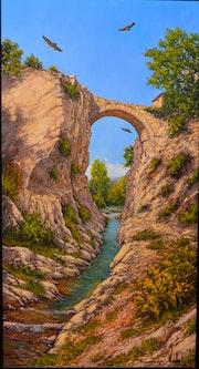 Puente románico la rioja.