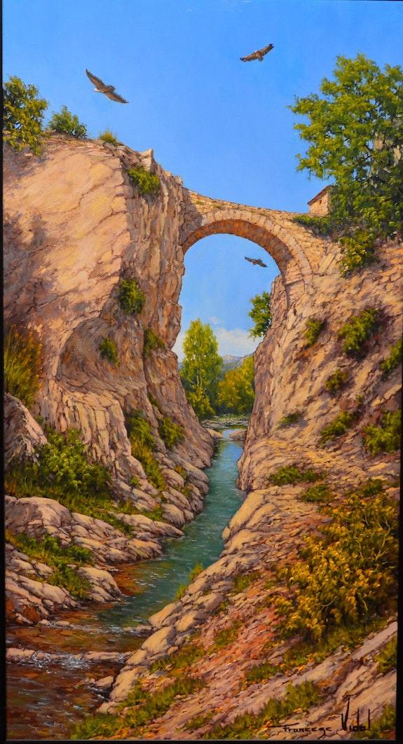 Puente románico la rioja. Francesc Vidal Francesc Vidal