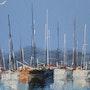 Port de Cannes. Jackie Engiel