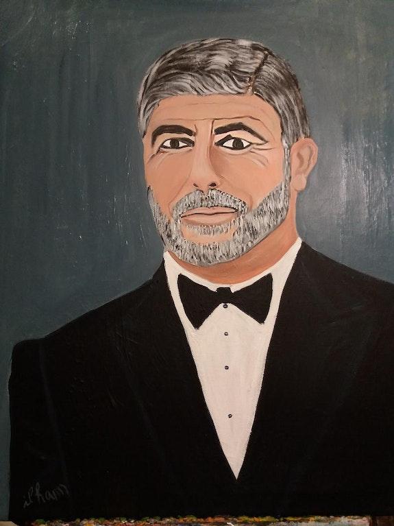 Georges Clooney. Balarh Ilham Ilham Balarh