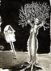 L'arbre à voeux. José Evrard