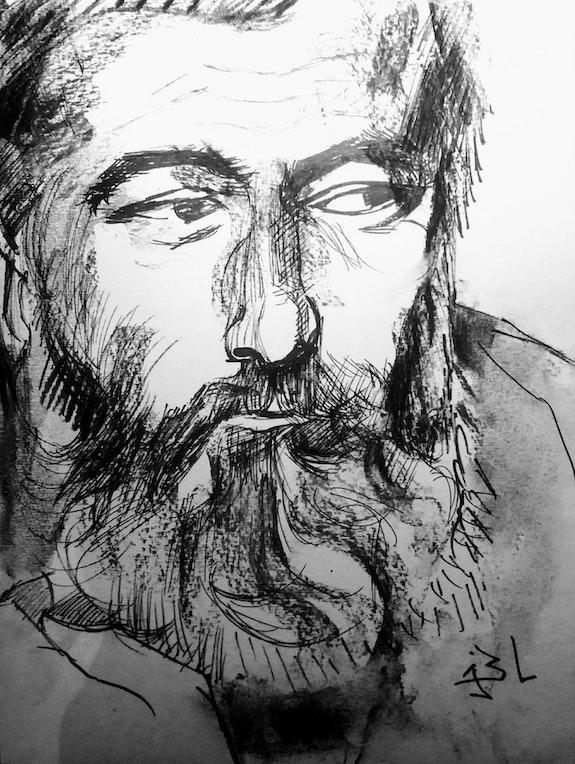 Hernest Hemingway. Un Luraine Savoir Être Heureux En Ce Monde Ci