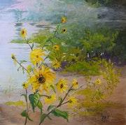 Lakeside Wildflowers. Lynda Pike