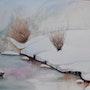La rivière sous la neige. 33Domy