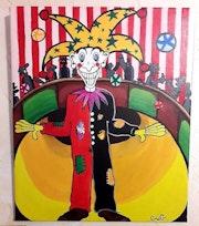 Clown en scène.