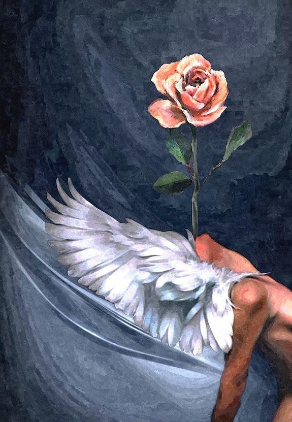 L'Ange et la Rose. Kindler Jean-Jacques Jean-Jacques Kindler