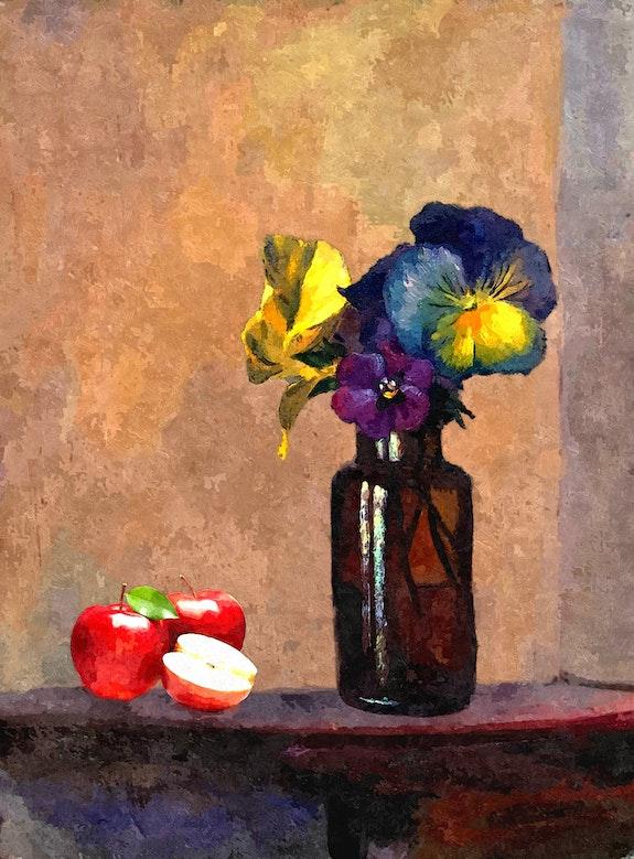 Fleurs et Pommes. Kindler Jean-Jacques Jean-Jacques Kindler