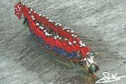 La fête des eaux au cambodge.