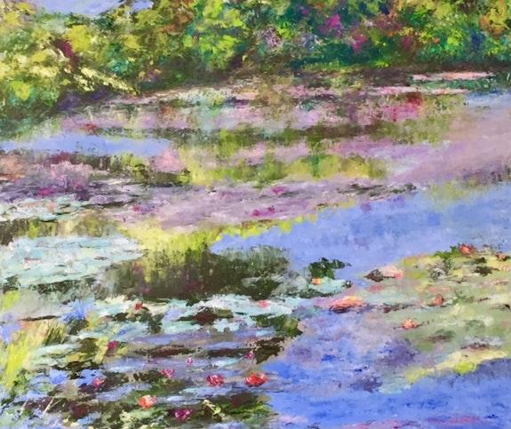 A Giverny chez Monet.  Dominique Mansour