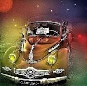 La vieille auto.