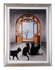 Porte Art Nouveau / Collection: Ouverture sur le monde. K-Zi-Yak